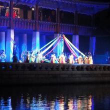 韓国の踊りが披露されました
