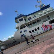 本島から近い