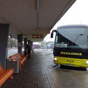 最高に快適なバス移動
