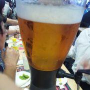 開催初日に乾杯!