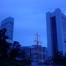 夜の風景です。