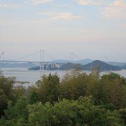 来島海峡サービスエリアから間近に観えます