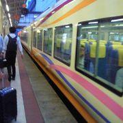 在来線から新幹線に乗り換えるときの、階段の昇りが大変