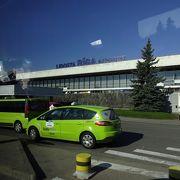 空港からリトアニアへの国際バス