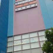 JR天満駅から近い大きな市場