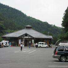 比較的小ぶりな道の駅