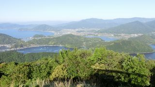 三方五湖や若狭湾を一望できる絶好な場所