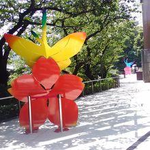 アート:桜にとまる蝶