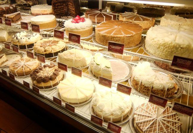 30種類以上のチーズケーキ。