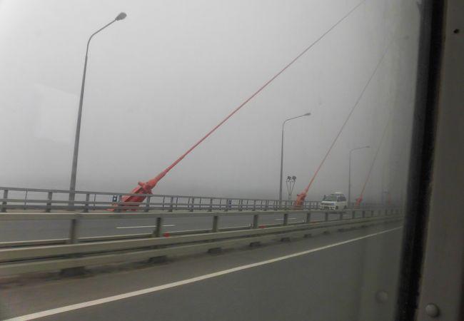 世界最大の斜張橋