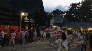 観月祭  (住吉大社)