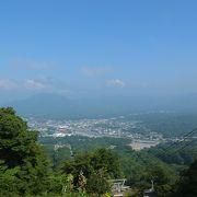 夏山リフトで軽井沢の絶景を