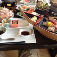 海の幸満載の豪華な食事でした。