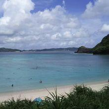 渡嘉敷島の阿波連ビーチ!最高の景色でした〜!
