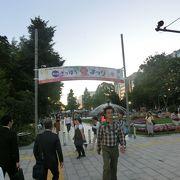 大通公園が主会場、短い夏を満喫