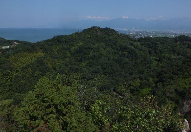 四国屈指の古代朝鮮式山城