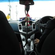 メータータクシーを利用