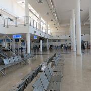 シンプルな空港です
