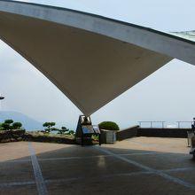 第1展望台の屋根