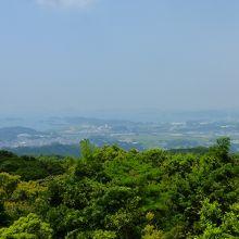 九十九島方向の眺め