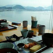 眺望と楽しむ和食