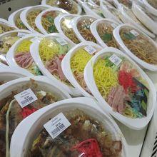 冷やし中華や丼物