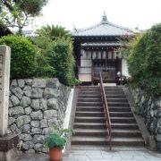 サルスベリの咲くお寺