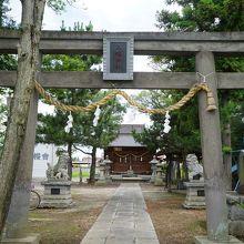 内国府間八幡神社