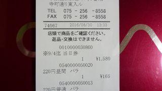 甲南チケット (河原町店)