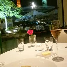 素敵なレストラン