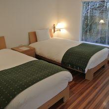 ベッドルーム。