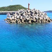 とても静かで美しい島