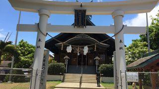 ハワイの神社