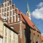 ゴシック様式の教会です。