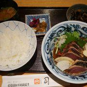 高知市を代表する郷土料理のお店