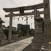 豊臣秀吉公ゆかりの地にある神社