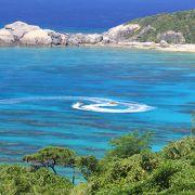さすがは慶良間の海です