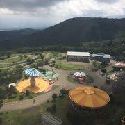 富士山2合目の遊園地