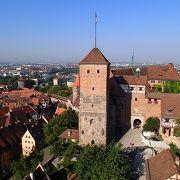 塔と井戸だけなら3.5€でニュルンベルクが一望できます