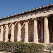 古代アゴラにある神殿