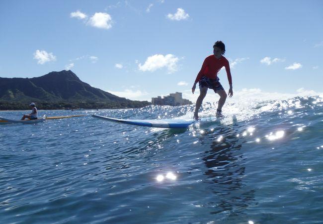 アンプ サーフィン ハワイ