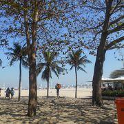 白い砂!青い海!