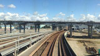 スカイトレインの駅