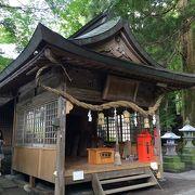 小さな神社です