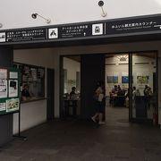 駅の案内所