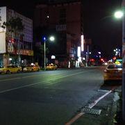 高雄は朝の4時でもタクシーが走っている