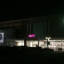 200もの店舗が入っている大きなイオンモール