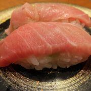 回転寿司だけど回ってない。新幹線改札に近くて便利なお寿司屋さん