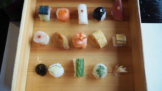 手毬寿司で有名なお店