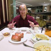 旬の上海蟹を頂く
